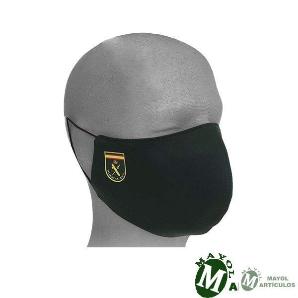 Mascarilla con Emblema Guardia Civil